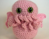 Reserved Pink Cthulhu for Creative Etching