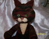 crochet Tortoiseshell cat tortishell  crochet cat