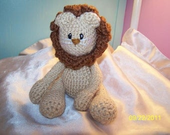 Liono the pocket crochet lion Can be ANY colors you want