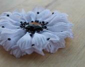 Witty White Hair Flower