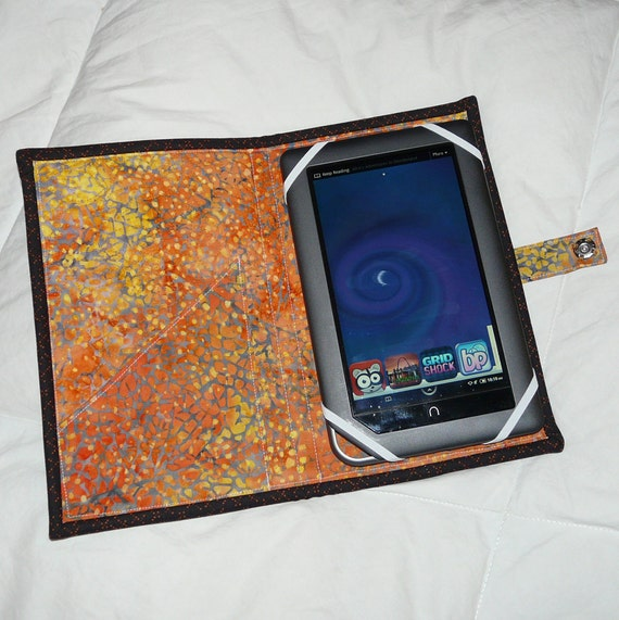 Quilted Book Style e-Reader Cases - pattern no. 510