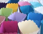 200 Popcorn Boxes - Choose Your Color - Bulk Discount