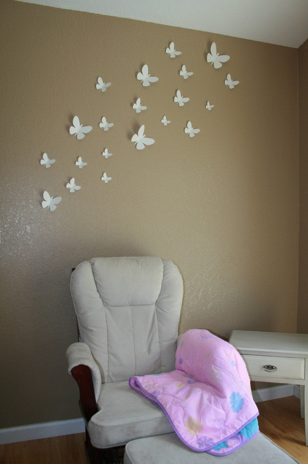 100 3d Butterflies Wall Decor By Embellishedpaper On Etsy