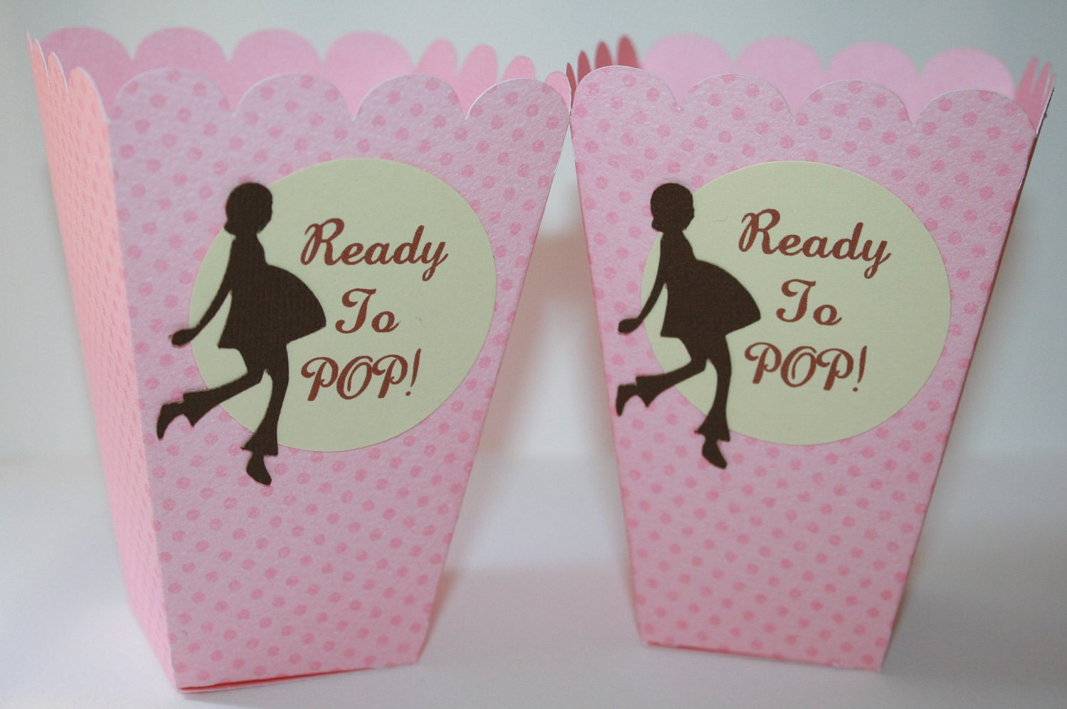 10 popcorn boxes ready to pop choose your by embellishedpaper for Ready to pop popcorn boxes