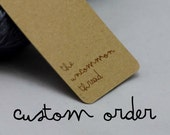 Custom order 1563