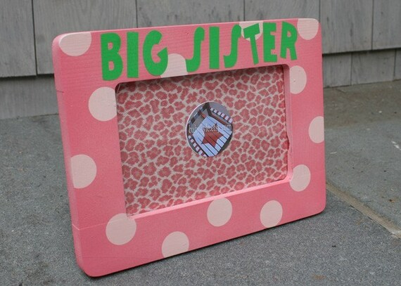 Big Sister Table Top Frame - Custom Personalization Also Available
