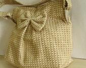Handmade Bag Purse Jute EcoFriendly Vegan Valentine Indian Zippered  by Armcandyforyou on Etsy
