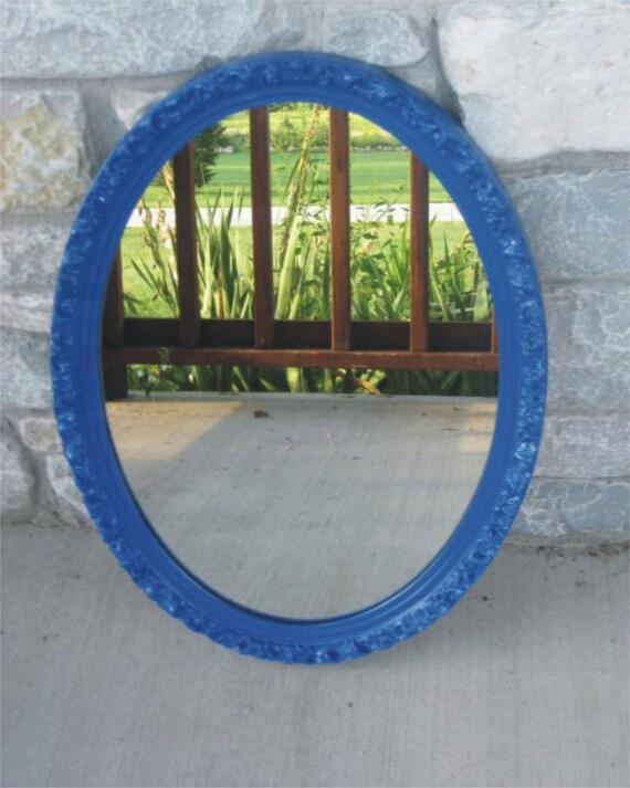 Oval Vintage Ornate Mirror