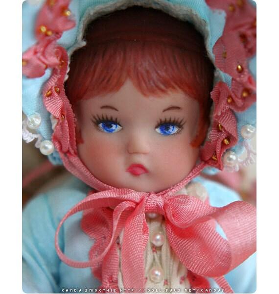 OOAK Wee Patsy 'Dottie Debutante' Repaint Doll