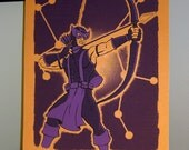 Sagittarius Comic Book Zodiac Poster