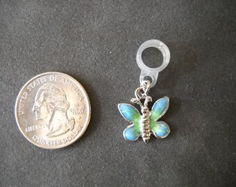 Blue Butterfly Metal Charms Jewelry 10
