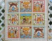 RESERVED - Crazy Cats quilt