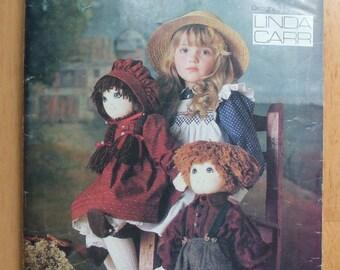 Vogue 9699 Doll & Clothes Sewing Pattern Boy Doll Girl Doll 22 inch Dress Bonnet Slip Pantaloons Shirt Pants Shoe Doll Clothes