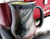 Custome salt fired mug made for lbjose