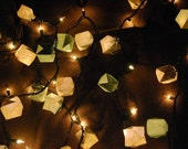 Sea of Green Origami Box Lights