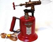 Vintage Harley Davidson Clayton Lambert Blow Torch Lamp