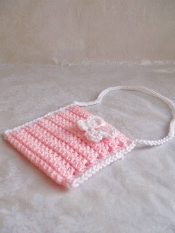 Toddler Crochet Purse Pattern : Crochet Girls Purse Toddler Purse Crochet Purse with Strap