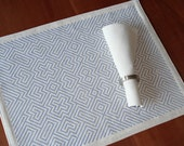 labyrinth placemat set of 4
