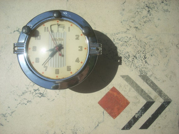 1940s Art Deco Clock Timer By Grayson