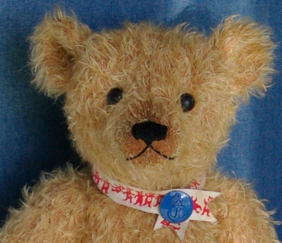 "Hampton Bears Windsor 16"" vintage style artist bear"