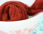 Rust Never Sleeps - 1oz Wool Fiber