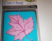 Cuttlebug Die cut-Embossed Leaf
