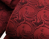 Octopus Tie - Patterned Necktie - Cool Gifts for Men - MC Escher Inspired Art - Cephalopods - Tentacles