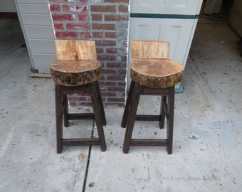 Stump Bar Stools
