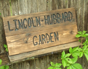 Custom Carved wood sign from reclaimed wood - personalized with wedding date anniversary - western cedar