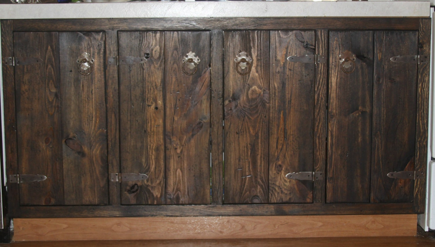 Medieval Rustic Custom Cabinets Face Frames And By BlackCatHill