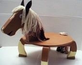 Horse Step Stool - Quarterhorse Philly