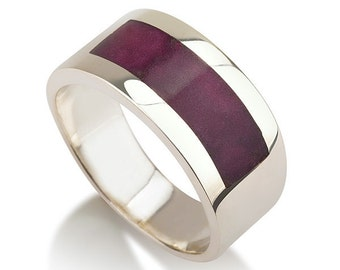 Ring - The purple is  in the center - size 12 1/2 - ON SALE CLEARANCE