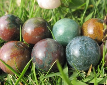 Natural Indian Agate 16mm Round Beads -25pcs/Strand