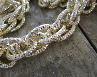 3 ft Gold Aluminum Jewelry Large Chains 18x25mm -K848