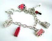 London Themed Charms bracelet - x1