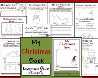 My Christmas Activity and Drawing Book for Children