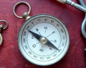 French antique compass
