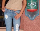 Wedding Shabby Chic Jeans
