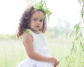 Customizable Flower Girl Top: Ruffle Your Feathers Flower Girl Dress Top