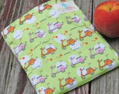 Reusable Sandwich Bag - Goin Places Handmade by Willow Handmade