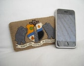 Ankh Morpork coat of arms iPhone sleeve