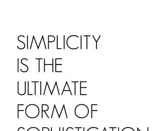 Famous Quotes On Simplicity. QuotesGram
