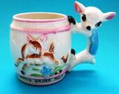 Deer Mug Vintage Japan