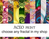 ACEO print - choose any fractal in my shop