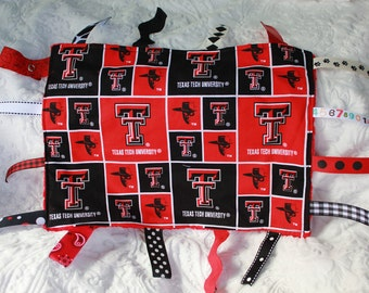 Texas Tech Blanket with Ribbons