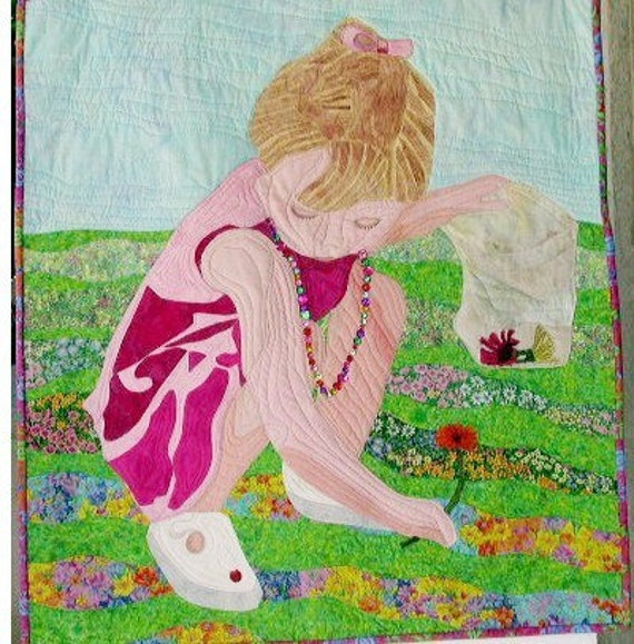 Daisy Girl Wall Quilt 29X32