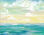 Sea Art- Windy Sea 12x18