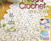 How To THREAD CROCHET On a Roll - Roll Stitch Crochet Pattern BOOK