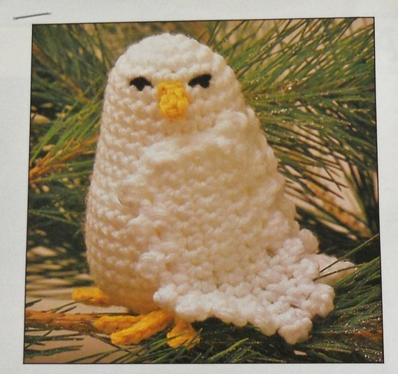 Crochet Pattern For Pikachu Doll : BABY SNOWY OWL Crochet Pattern by M2Hawk on Etsy
