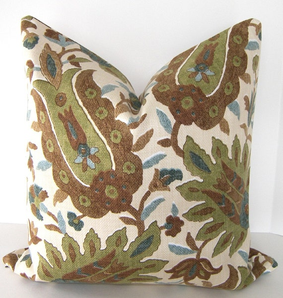Dark Brown Decorative Pillow : Decorative Pillow Cover 20x20 inch Dark Brown by Loubella1